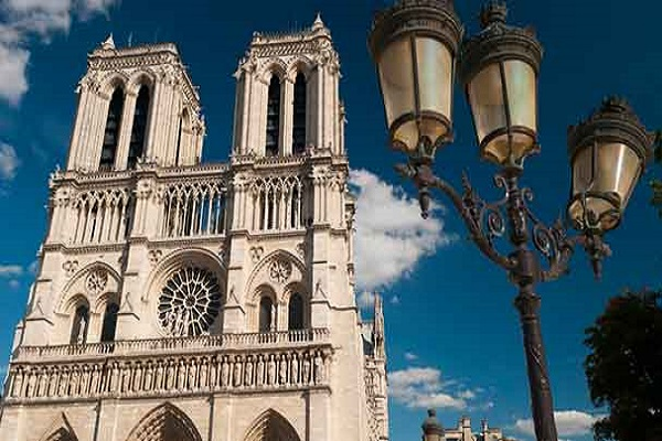 Notre Dame twin towers